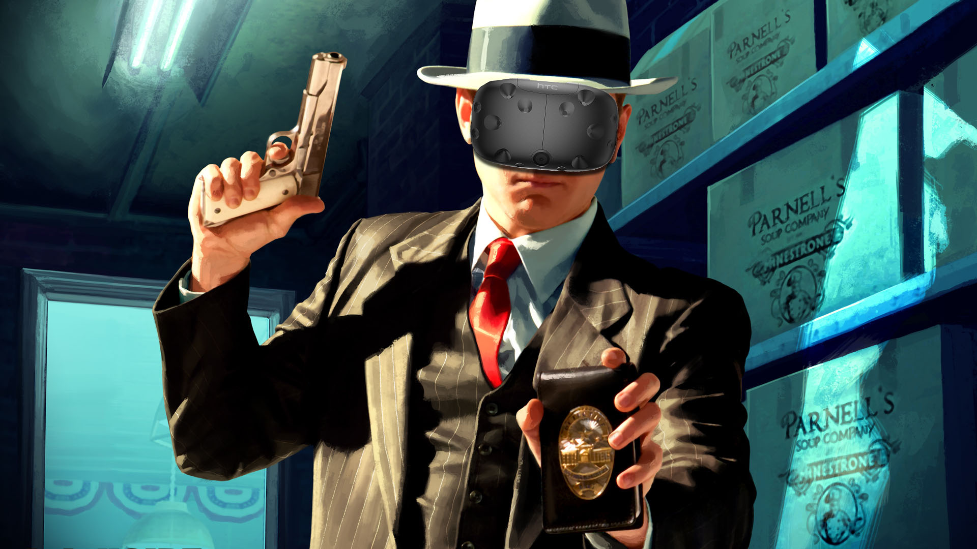 Why the LA Noire remaster is the perfect match for VR