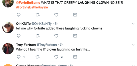 Fortnite: The Creepy Clown Laugh Is Not What You Think It Is