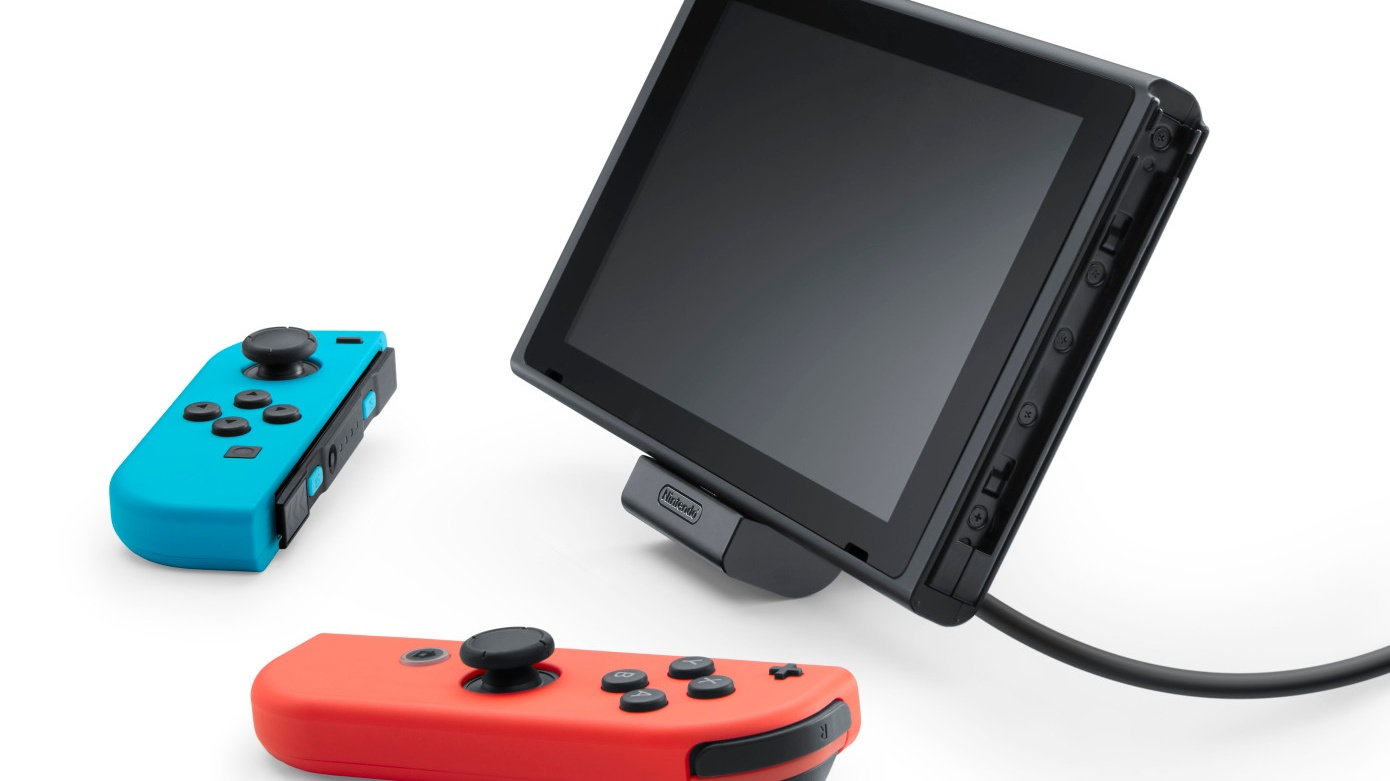 Nintendo's new Switch charging dock makes tabletop gaming easier