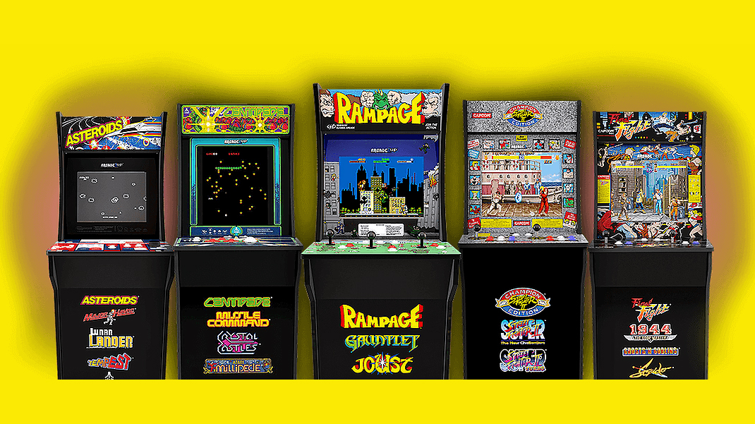 Get a full-blown arcade cabinet in your house for the price of an Xbox