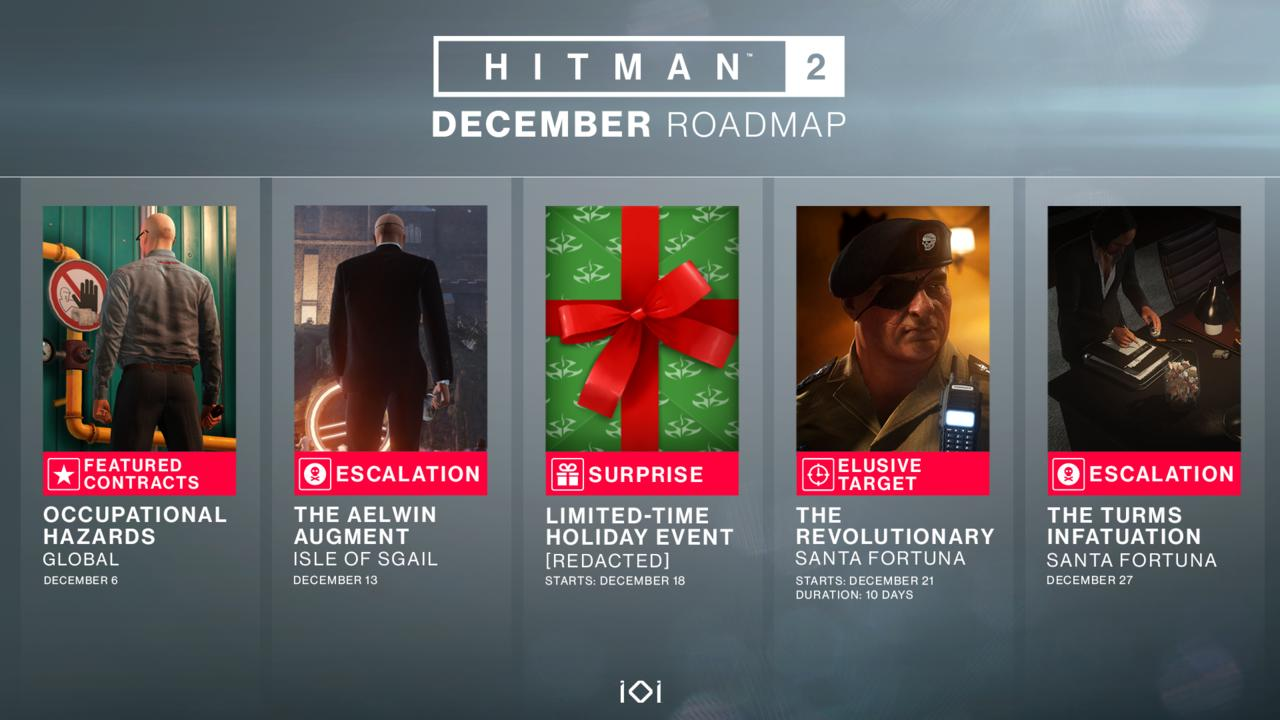 Sean Bean May Be Gone, But More Free Hitman 2 Content Is Coming This Month