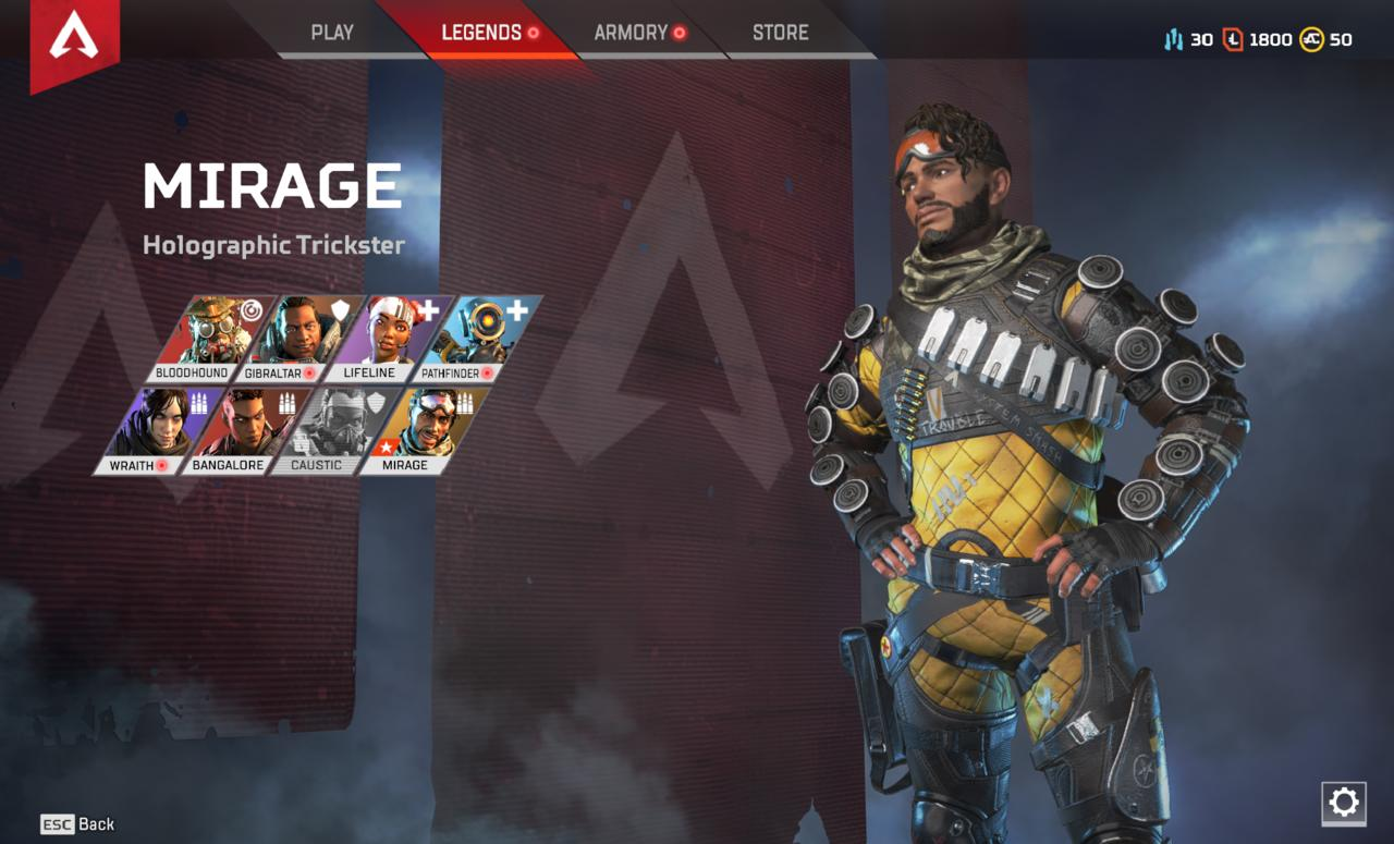 Apex Legends Mirage Guide: Tips On How To Be The Best Holographic Trickster