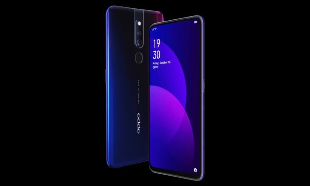 Oppo's notchless F11 Pro officially revealed with pop-up camera