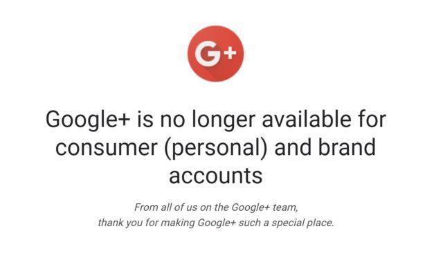 Google+ set to shut down