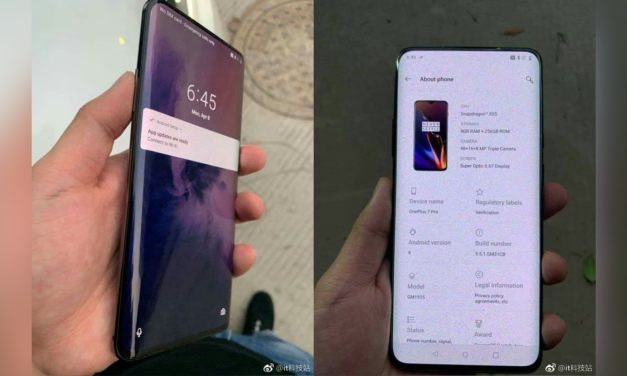 OnePlus 7 Pro pops up on the internet with curved screen, could be the OnePlus 5G phone