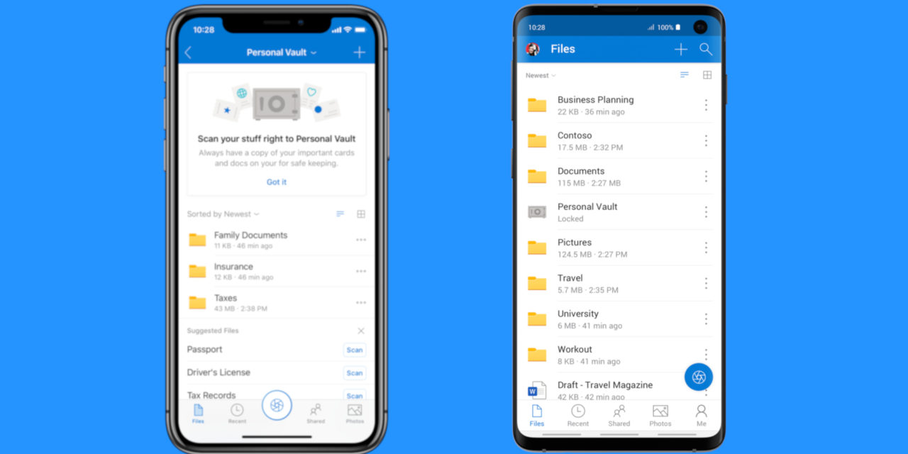 Microsoft improves One Drive security with new Personal Vault feature
