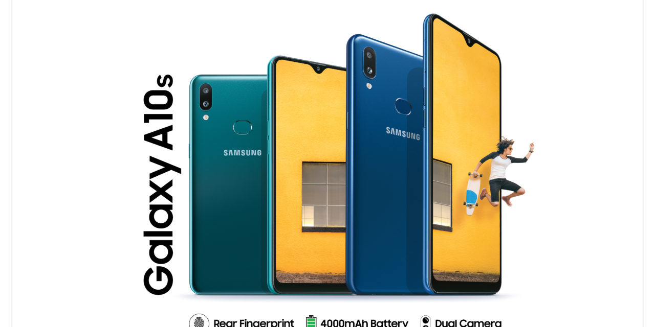 Samsung A10s launched in India, joining the sub Rs 10K segment