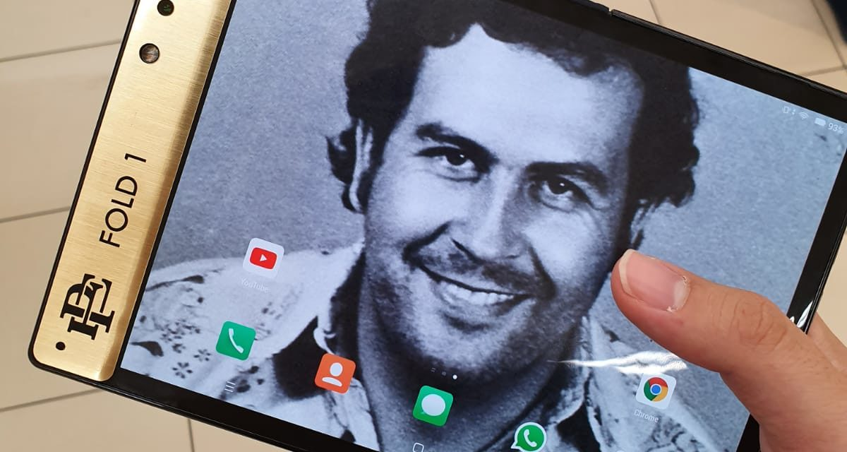 """Pablo Escobar's brother launches an """"unbreakable"""" foldable smartphone"""