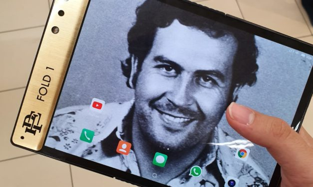 "Pablo Escobar's brother launches an ""unbreakable"" foldable smartphone"