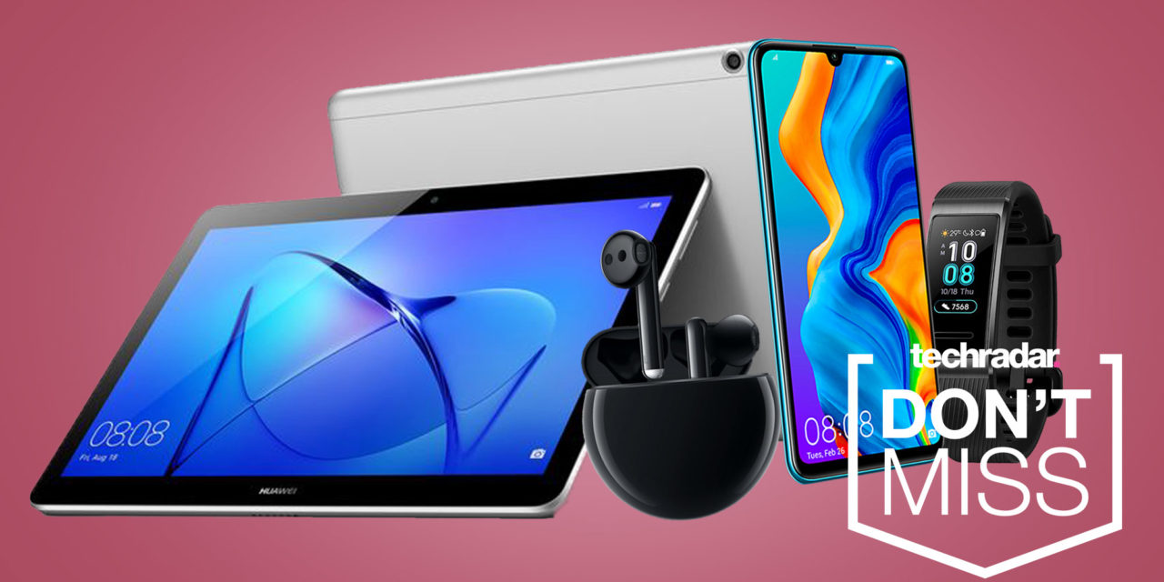 Get a Huawei P30 Lite, wireless earbuds, tablet and smartwatch all for under £500
