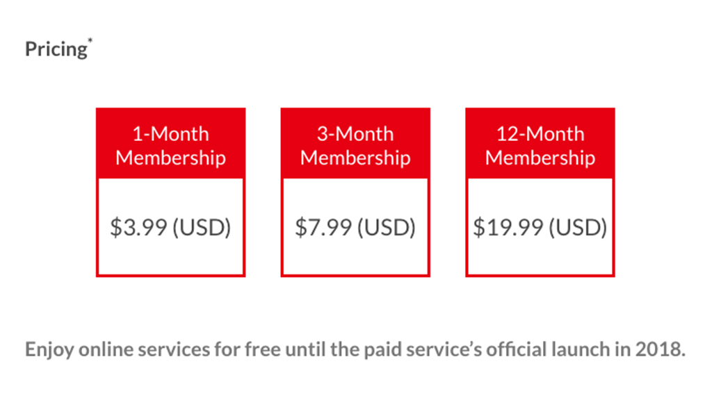 Nintendo switches launch date for paid online service to 2018