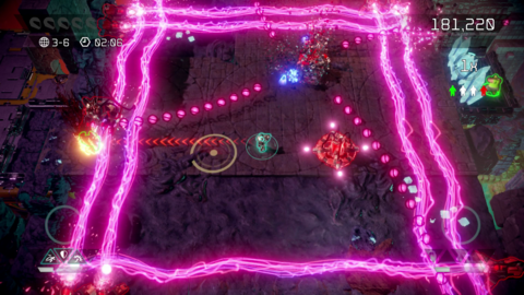 New Update For PS4/PC Shoot-Em-Up Nex Machina Out Now