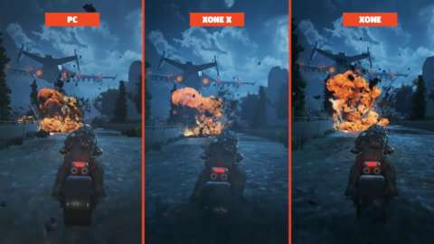 Xbox One X, PC, And Xbox One Graphics Comparison: Gears Of War 4 And Killer Instinct