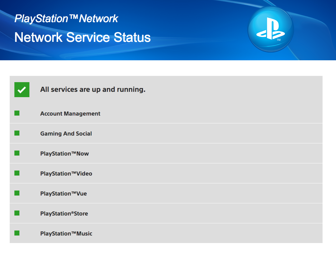 PSN Is Having Some Issues Right Now [UPDATE: FIXED]