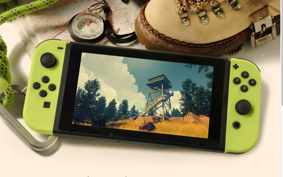 Nintendo Switch Getting Acclaimed Adventure Game Firewatch
