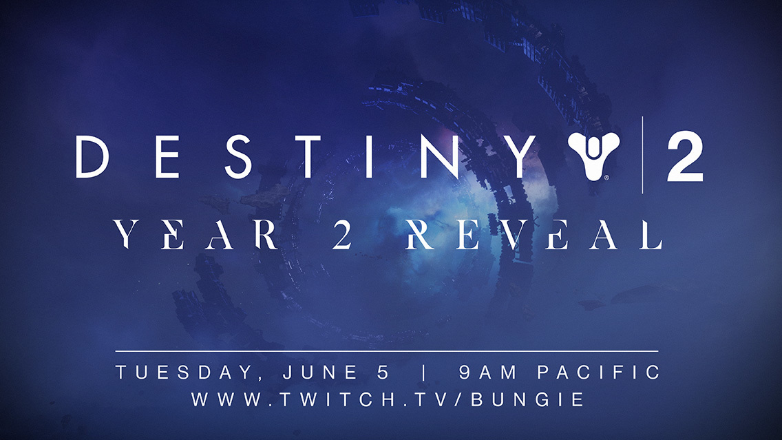 Destiny 2 Year 2 Reveal Livestream Coming Next Week, Here's When And How To Watch