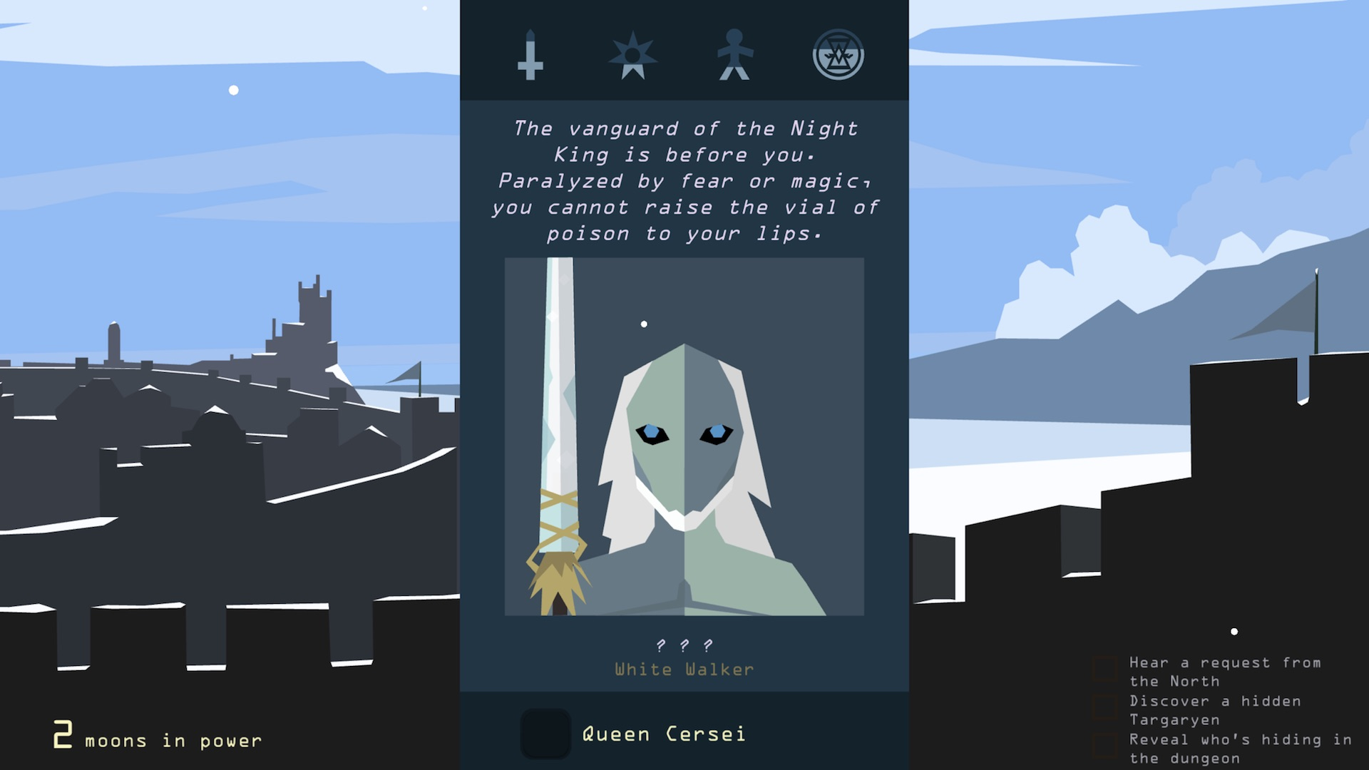 Winter is coming, so get swiping with Reigns: Game of Thrones edition