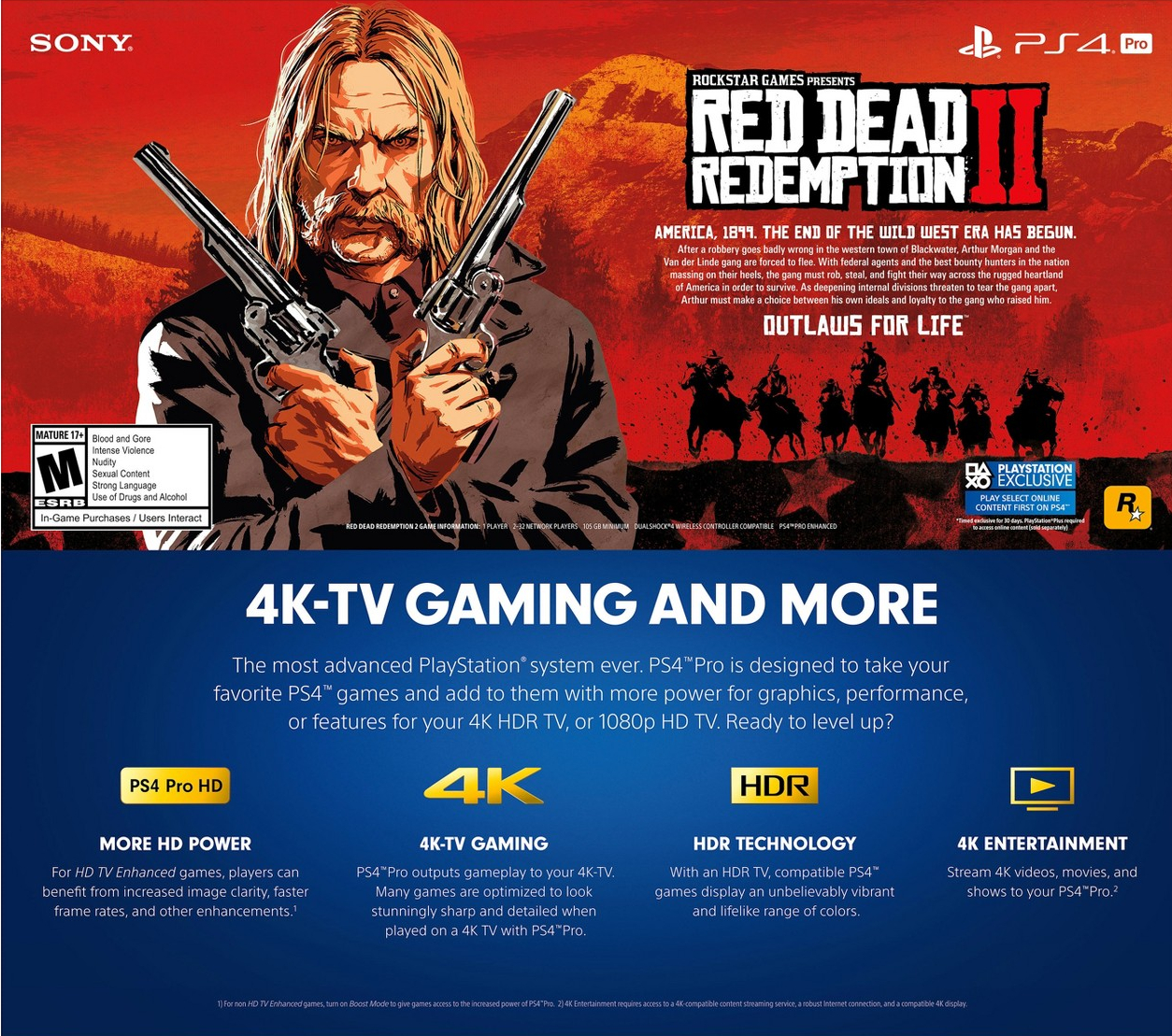 Red Dead Redemption 2 needs an absurd 100GB-plus install