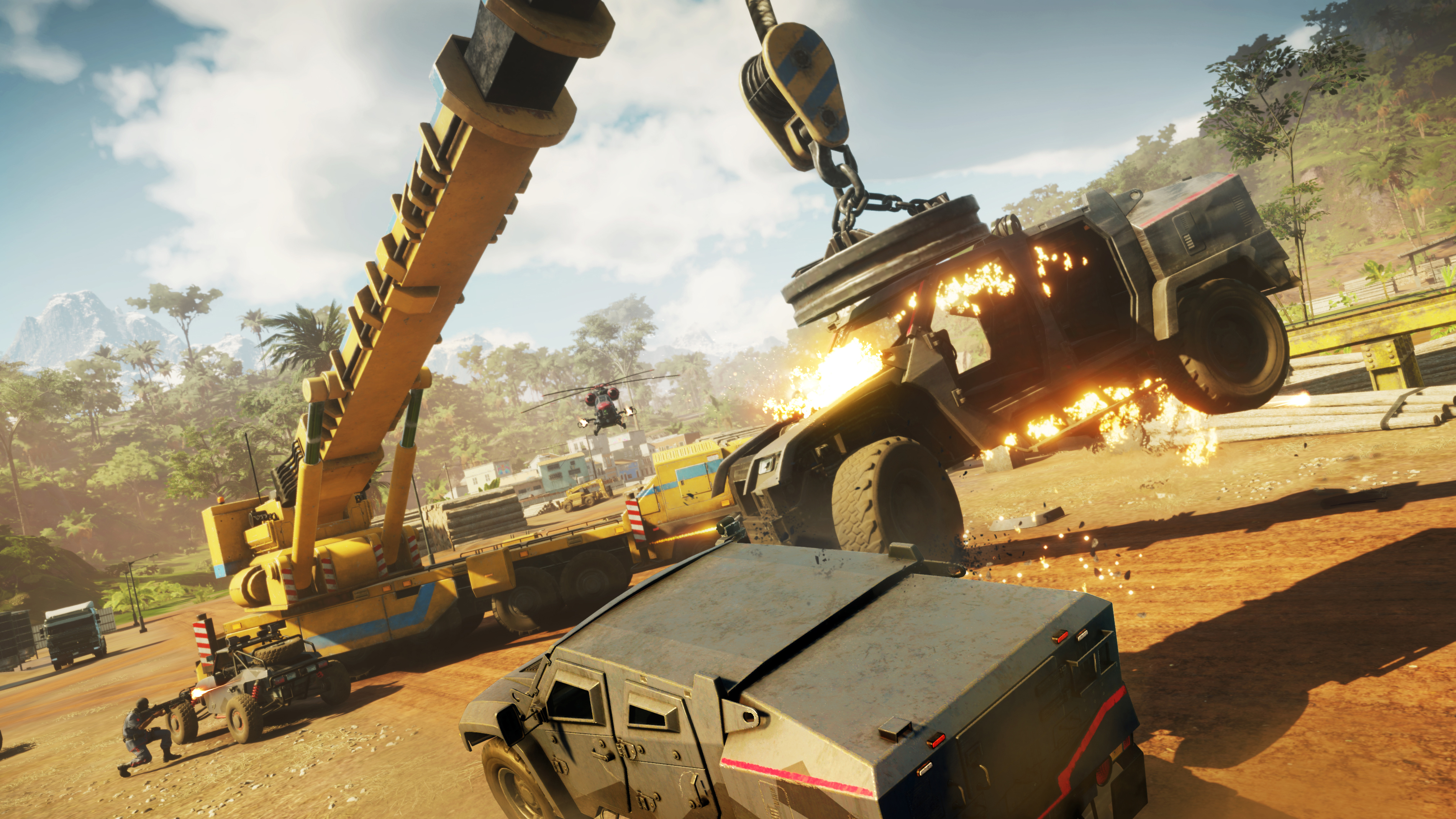 Just Cause 4 hands-on: a chaotic playground at your fingertips