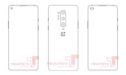 OnePlus 8 Pro alleged sketch outlines quad-cameras and punch-hole screen