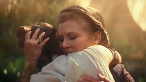 Star Wars: The Rise Of Skywalker–Carrie Fisher's Daughter Stood In For Her During One Scene