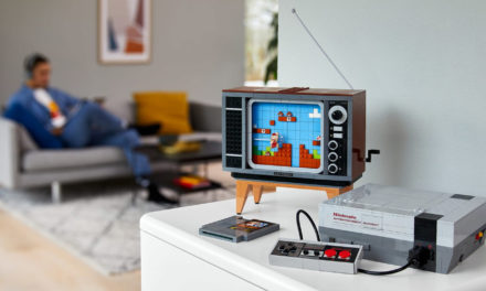 Lego Nintendo Entertainment System lets you 'play' Mario on a TV made of blocks