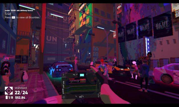 Umurangi Generation Review – Cyberpunk Snap