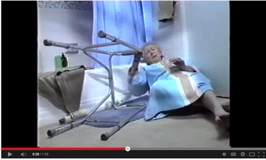 Life Alert Commercial. A sign of the times?