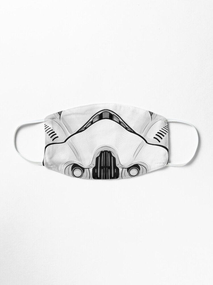 Storm Trooper Face Mask
